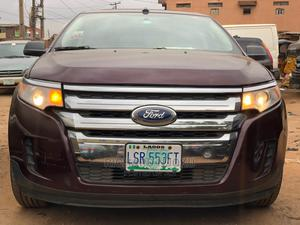 Ford Edge 2012 SE 4dr FWD (3.5L 6cyl 6A) Red | Cars for sale in Lagos State, Ikeja
