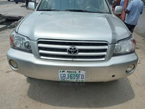 Toyota Highlander 2003 Limited V6 AWD Silver | Cars for sale in Delta State, Uvwie