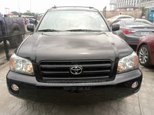 Toyota Highlander 2006 Black | Cars for sale in Lagos State, Lekki
