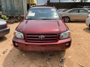Toyota Highlander 2006 Limited V6 4x4 Red | Cars for sale in Lagos State, Ikotun/Igando