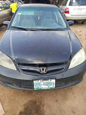 Honda Civic 2005 Black | Cars for sale in Lagos State, Alimosho