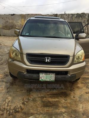 Honda Pilot 2005 Gold | Cars for sale in Oyo State, Egbeda
