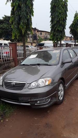 Toyota Corolla 2008 1.6 VVT-i Gray   Cars for sale in Lagos State, Ikeja