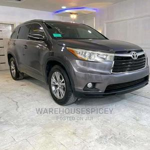 Toyota Highlander 2016 XLE V6 4x4 (3.5L 6cyl 6A) Gray | Cars for sale in Lagos State, Ikeja