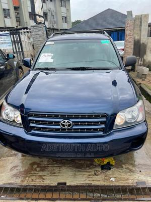 Toyota Highlander 2002 Limited V6 AWD Blue | Cars for sale in Lagos State, Ogba