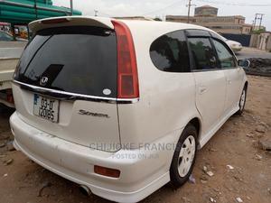 Honda Stream 2001 2.0 White   Cars for sale in Lagos State, Ejigbo