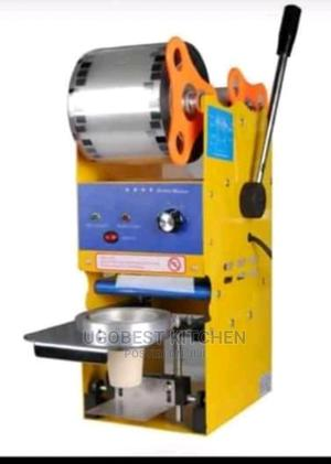 Newly Imported Cup Sealing Machine With High Quality   Manufacturing Equipment for sale in Lagos State, Ojo