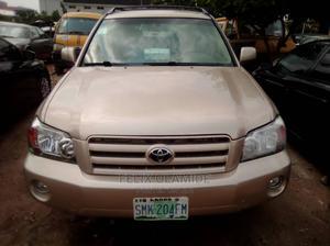 Toyota Highlander 2005 Limited V6 Gold | Cars for sale in Lagos State, Ikeja