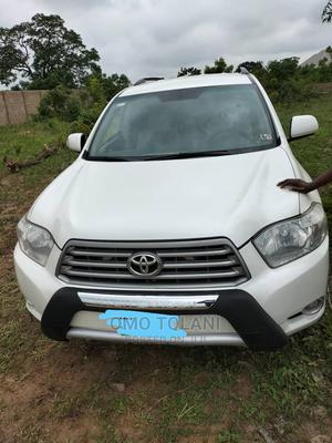Toyota Highlander 2009 V6 White | Cars for sale in Kwara State, Ilorin South