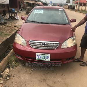 Toyota Corolla 2004 Red   Cars for sale in Edo State, Benin City