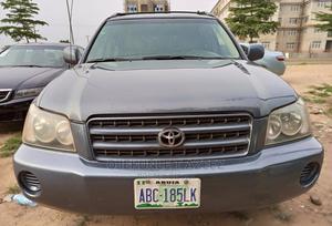 Toyota Highlander 2003 Limited V6 FWD Blue | Cars for sale in Abuja (FCT) State, Gaduwa