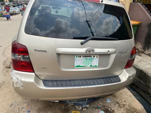 Toyota Highlander 2005 V6 Gold | Cars for sale in Lagos State, Surulere