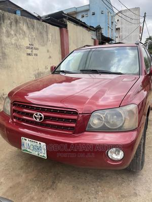 Toyota Highlander 2003 V6 AWD Red | Cars for sale in Lagos State, Ikeja