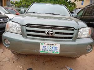 Toyota Highlander 2006 Green | Cars for sale in Lagos State, Ogba