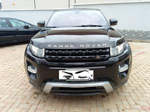 Land Rover Range Rover Evoque 2016 Black   Cars for sale in Abuja (FCT) State, Apo District