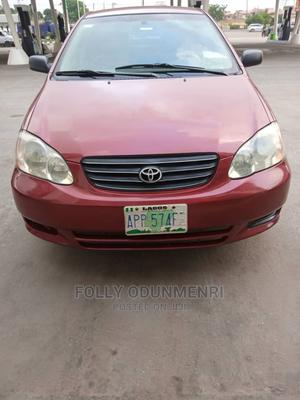 Toyota Corolla 2004 LE Red | Cars for sale in Lagos State, Ajah