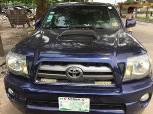Toyota Tacoma 2009 Double Cab V6 Automatic Blue   Cars for sale in Lagos State, Amuwo-Odofin
