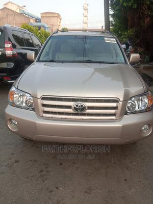Toyota Highlander 2007 Limited V6 4x4 Gold | Cars for sale in Lagos State, Ikeja
