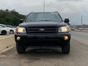 Toyota Highlander 2005 Limited V6 Black   Cars for sale in Abuja (FCT) State, Kubwa