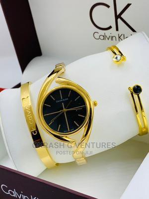 Calvin Klein (CK) Gold Set Watch for Women's   Watches for sale in Lagos State, Lagos Island (Eko)