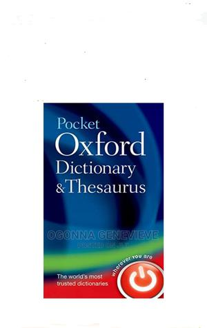 Pocket Oxford Dictionary and Thesaurus 2nd Edition   Books & Games for sale in Lagos State, Yaba
