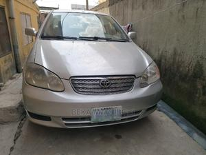 Toyota Corolla 2003 Sedan Automatic Silver | Cars for sale in Lagos State, Yaba