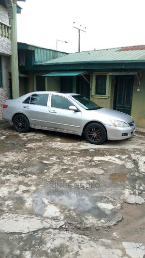 Honda Accord 2004 Automatic Silver | Cars for sale in Lagos State, Ifako-Ijaiye