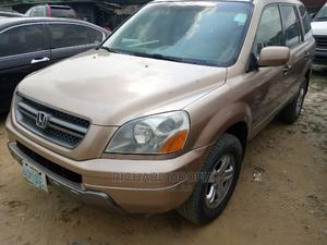 Honda Pilot 2003 LX 4x4 (3.5L 6cyl 5A) Gold | Cars for sale in Rivers State, Port-Harcourt
