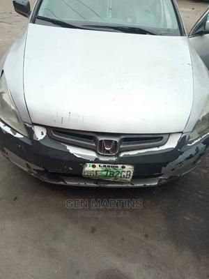 Honda Accord 2005 Silver | Cars for sale in Lagos State, Alimosho
