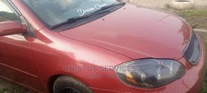 Toyota Corolla 2003 Sedan Red | Cars for sale in Lagos State, Alimosho