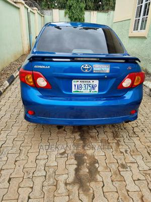 Toyota Corolla 2009 Blue   Cars for sale in Abuja (FCT) State, Lugbe District