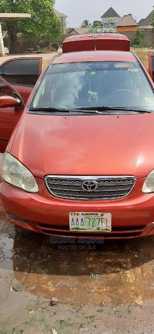 Toyota Corolla 2004 LE Red | Cars for sale in Delta State, Oshimili South