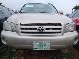 Toyota Highlander 2004 Gold   Cars for sale in Lagos State, Oshodi