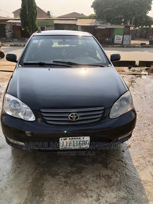 Toyota Corolla 2004 Sedan Black | Cars for sale in Lagos State, Alimosho