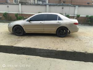 Honda Accord 2005 2.0 Comfort Automatic Gold | Cars for sale in Rivers State, Obio-Akpor