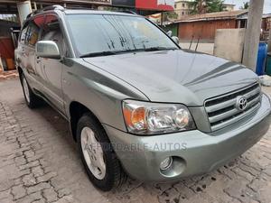 Toyota Highlander 2005 Limited V6 Green | Cars for sale in Lagos State, Lekki