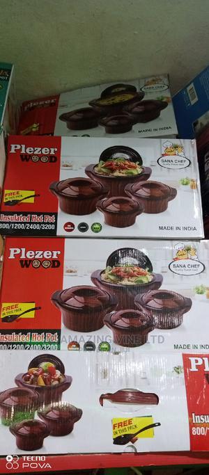 Wooden Color Set 4 Food Warmer | Kitchen & Dining for sale in Abuja (FCT) State, Karu