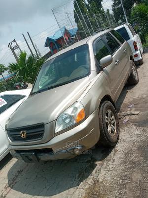 Honda Pilot 2005 Gold | Cars for sale in Lagos State, Ajah