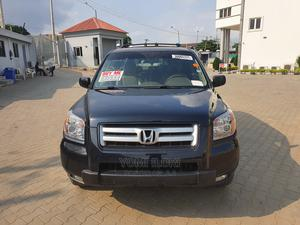 Honda Pilot 2007 EX-L 4x4 (3.5L 6cyl 5A) Black | Cars for sale in Lagos State, Ogba