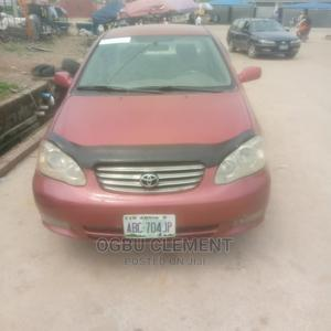 Toyota Corolla 2003 Red | Cars for sale in Abuja (FCT) State, Kubwa