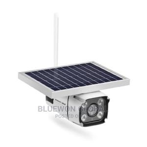 Solar Panel Powered Ip Camera 4g Sim Card With Built-In Batt   Security & Surveillance for sale in Lagos State, Ikeja
