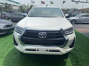 New Toyota Hilux 2021 White   Cars for sale in Lagos State, Lekki