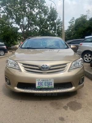 Toyota Corolla 2010 Gold | Cars for sale in Abuja (FCT) State, Asokoro