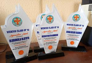 Award; Plaque, Glass, Crystal   Arts & Crafts for sale in Oyo State, Ibadan