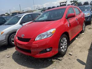 Toyota Matrix 2010 Red   Cars for sale in Lagos State, Apapa