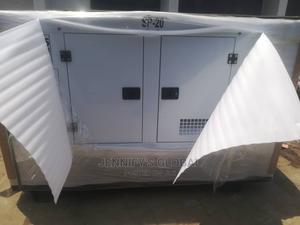 20kva Perkins Diesel Soundproof Generator 100% Coppa Coil | Electrical Equipment for sale in Lagos State, Ilupeju