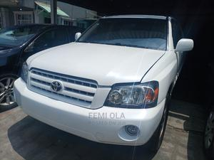 Toyota Highlander 2007 White | Cars for sale in Lagos State, Ilupeju