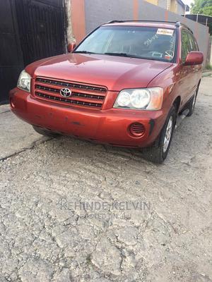 Toyota Highlander 2003 V6 FWD Red | Cars for sale in Lagos State, Ojodu