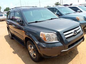 Honda Pilot 2007 EX-L 4x4 (3.5L 6cyl 5A) Gray | Cars for sale in Lagos State, Apapa