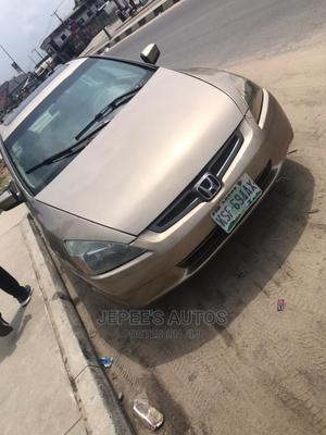 New Honda Accord 2005 Sedan LX V6 Automatic Gold | Cars for sale in Rivers State, Port-Harcourt